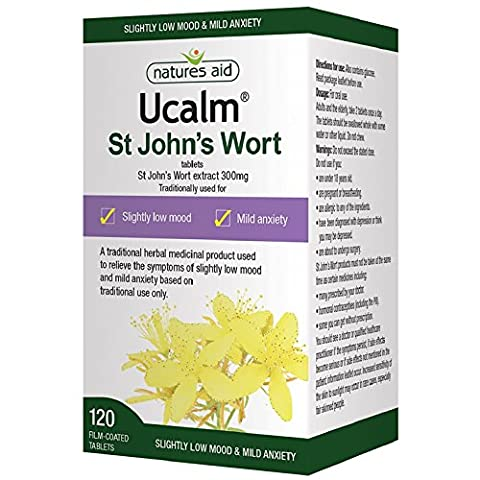 Natures Aid Ucalm 300mg , 60 onglets