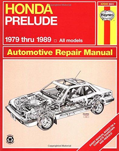 Honda Prelude CVCC, 1979-1989 (Haynes Manuals)