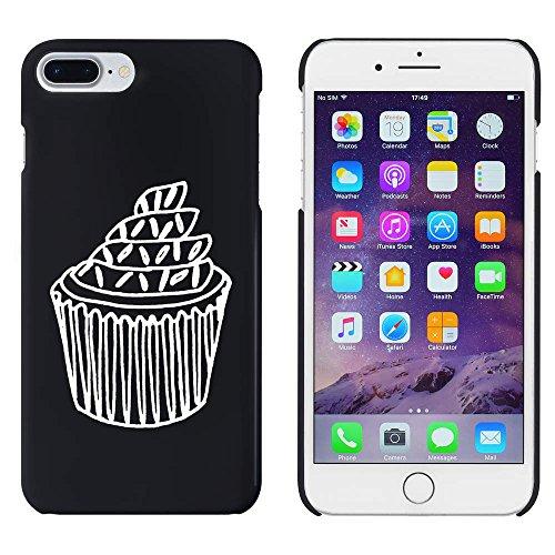 Azeeda Schwarz 'Cupcake mit Streuseln' Hülle für iPhone 7 Plus (MC00103205)