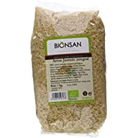 Bionsan Arroz Jazmín Integral - 3 Paquetes de 1000 gr - Total: 3000 gr