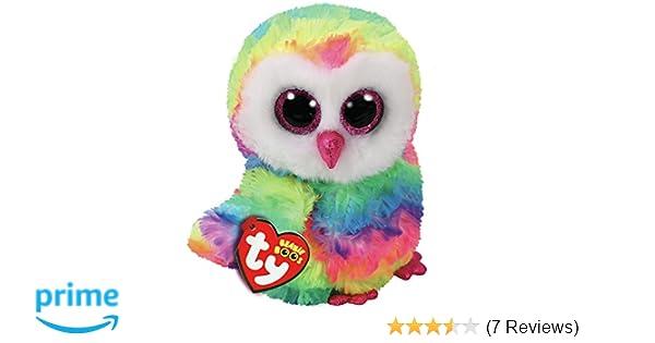 Ty Owen Owl Beanie Boo 15cm  Amazon.co.uk  Toys   Games 236eab89f719
