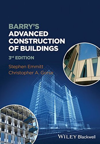 Barry's Advanced Construction of Buildings by Stephen Emmitt (2014-06-23)