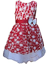 KCL London Girls Dress by Pretty Bow Dress Party/Prom Red Ages 2 Years up to 13 Year