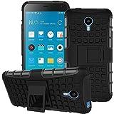 Shopper Point Vivo Y21 Or Vivo Y22 Shock Absorption Hybrid Armor Protection Defender Back Cover Case- Black (For Vivo Y21 Or Vivo Y22)