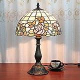 Kamelie®European-style Garten Beleuchtung Tiffany-Lampe Schlafzimmer Lampe Nachttischlampe kreative Hochzeitsmode Tiffany-Lampe