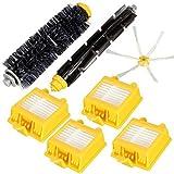 Accessoires pour aspirateurs, kit de Nettoyage Brosses Filtre Brosses de Rechange...
