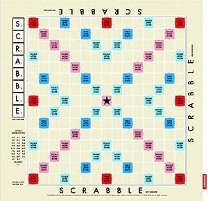 Scrabble Tea Towel