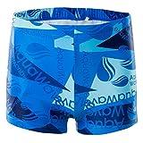 AquaWave Kinder Kurze Badehose Schwimmhose Hose Trunks Jungen - Sportlich und Bequem, Ideal Zum Schwimmen und Baden - Tagnaro Jr, Blau, 140