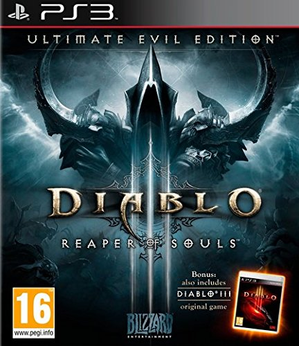 Ps3 3 Diablo (Diablo III Reaper Of Souls Ultimate Evil Edition (PS3))