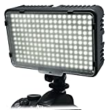 Mcoplus® 198 blanc Cool LED Dimmable Ultra haute puissance panneau Digital Camera / Camcorder vidéo led Light pour Canon, Nikon, Pentax, Panasonic, Samsung et Olympus Digital SLR Camera couleur température 3200K or 5500K