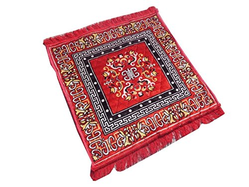 Kuber Industries Red Pooja Aasan, Mat (2 Ft X 2 Ft)  available at amazon for Rs.149