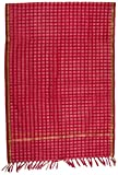 #6: SD Fabrics® Banarasi Women's Pure Silk Dupatta (Red)