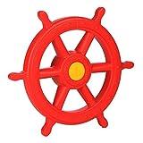 Steuerrad rot für Spielturm Schiffslenker Pirat von Gartenpirat®