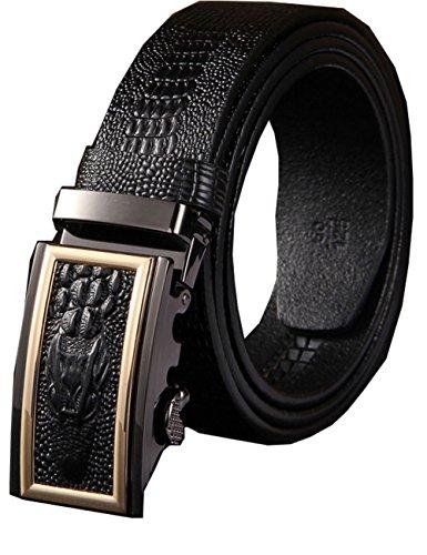 menschwear-mens-full-gebuine-leather-belt-adjustable-automatic-buckle-35mm-100-black