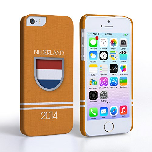 Caseflex Coque iPhone 5 / 5S Nederland Coupe du Monde Dur Housse