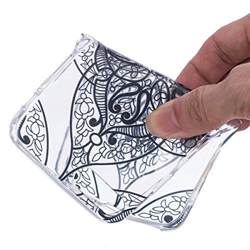 Apple iPhone 7 4.7 Hülle, ANNNWZZD Neue Muster Ultra dünn TPU Silikon Schutzhülle HandyHülle Handytasche Case Cover Schutz Telefon Tasche Etui Bumper Weiche Flexibel Schale,A03 A16