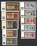 *** 5,10,20,50,100 DDR Mark Geldscheine 1955,1964 Alte DDR Währung 2 Sätze - Alte DDR Währung - Pick 017 - 26 - Reproduktion ***