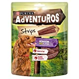 Purina Adventuros Strips Dog Treats Venison Flavour, 90 g - Pack of 6