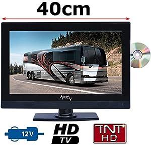 Combiné DVD TV CAMPING CAR CAMION 16