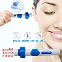 Ear Wax Remover, SUPTEMPO Electric Easy EarWax Removal Cleaner Kit