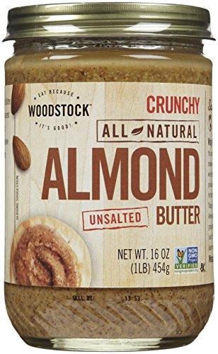 Woodstock Farms - All-Natürliche Mandel-ButterCrunchy ungesalzenes - 16 Unze.