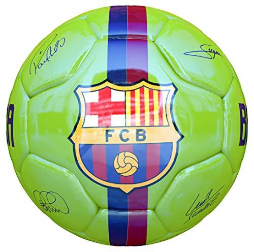 JOSMA SPORT - Balón Mediano F.C. Barcelona Away 18/19 Verde