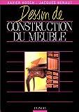 Dessin de construction du meuble