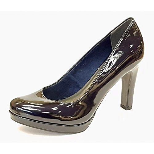 Tamaris 22426, Zapatos de Tacón para Mujer, Rosa (Rose Patent), 41 EU