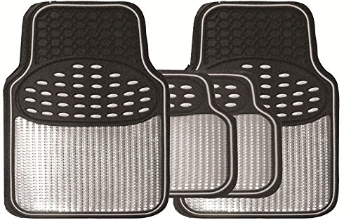 premium-black-silver-metallic-rubber-mats-for-chrysler-neon-99-03
