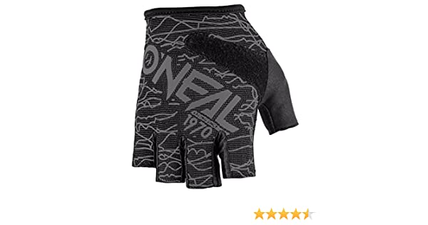 Gr/ö/ße S ONeal Fingerless Wired Grau Fahrrad Handschuhe MTB DH BMX FR Enduro Mountain Bike 0374-10