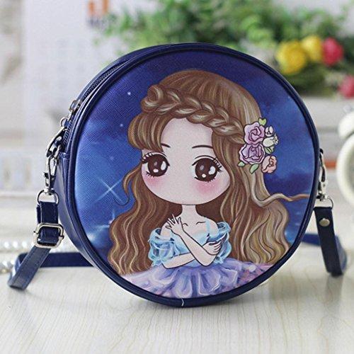 BZLine® Frauen Handtaschen und Cartoon Handtaschen Kids Girls Mini Crossbody Tasche B