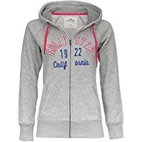 Hollister California, Sweatjacke, Hoodie, Zipper, Damen, grau, S M L XL 1b292a059f