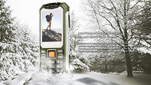Tel  fono m  vil gratis Easy Comfort tel  fono m  vil  VKWorld Piedra V3S IP54 Tel  fono al aire libre Bot  n grande para SeniorsIP68 Impermeable a pr