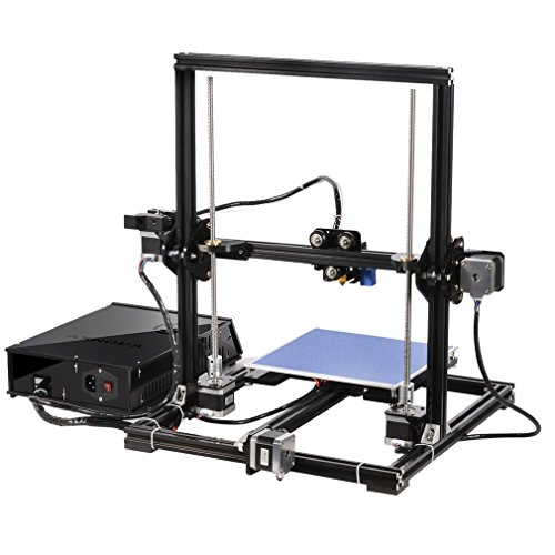 Cheap 3D Printer,Dpower Aluminium Profile Extrusion 3D Printer DIY Kit with LCD Screen,TF Card and Plastic Wheel with Bearings[2017 NEW RELEASE] on Line