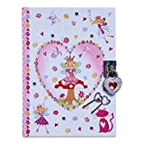 Lucy Locket Enchanted Fairy Secret Diary for Children (Children\'s Diary with Lock and Keys)