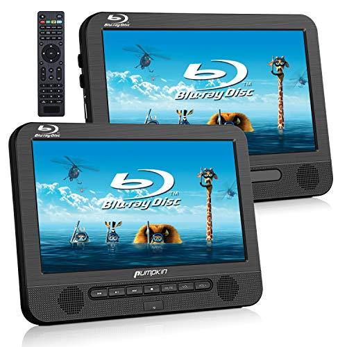 Pumpkin 1080P DVD Reproductor HDMI Blue Ray 2 Pantallas