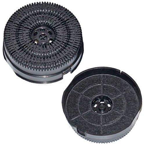 Spares2go type 58Cfc00936Charbon Carbone filtres à air pour hotte aspirante Hotpoint-Ariston Vent
