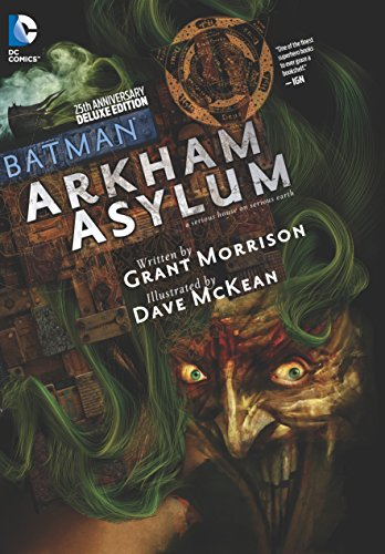 (W) Grant Morrison (A/CA) Dave McKean One of the greatest Batman stories ever told, BATMAN: ARKHAM ASYLUM is celebrated in this 25th Anniversary Deluxe Edition, offered simultaneously as both a Deluxe Edition hardcover and a new edition trade paperba...