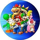 Tortenaufleger Super Mario3 / 20 cm Ø/Lieferung 2 bis 5 Werktage
