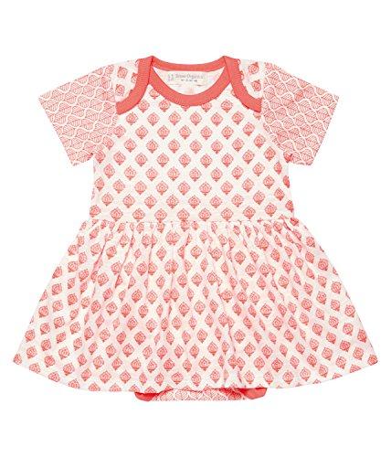 Sense Organics Baby Girls' Pia Kleid Mit Body GOTS-Zertifiziert Bodysuit