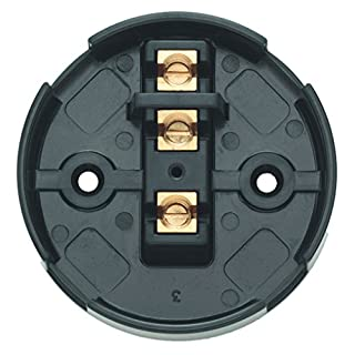 Contactum CAC2706 20A 6 Terminal Junction Box Black (Pack of 10)