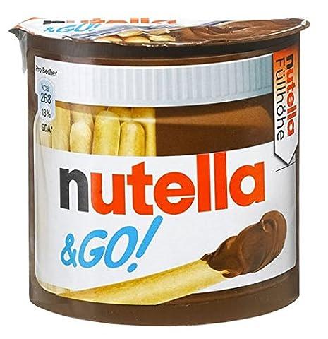 Ferrero Nutella und Go, 12er Pack (12 x 52 g) (Nutella Ferrero)
