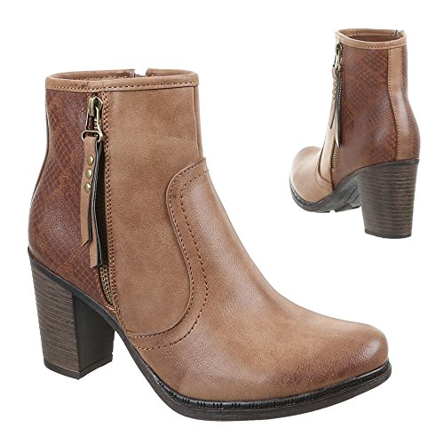 Chaussures, 594–gA-femme Marron - Marron