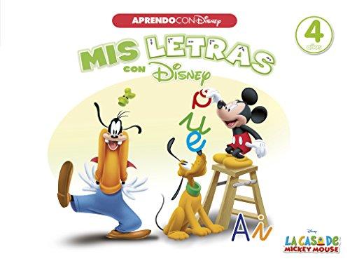 Mis letras con Disney (Aprendo con Disney) (La casa de Mickey Mouse) por Disney