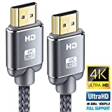 Cavo HDMI 4K 0.9m, Snowkids Cavi HDMI 2.0 a/b ad alta Velocità con Ethernet, Supporta 4K 60Hz HDR 2.0/1.4a, Video UHD 2160p, Ultra HD 1080p, 3D, Xbox, PS3, PS4, TV, Computer e Monitor