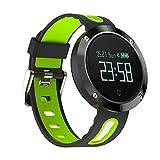 Smart Band Uhrenarmband Smartwatch Uhr Blutdruckmessgerät Schrittzähler Fitness Fitness Tracker Für IOS Android iPhone JUDM58 (Grün)