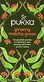 Pukka Bio-Tee Ginseng Matcha Green, 80 Teebeutel, 4er Pack (4 x 20 Stück)