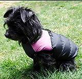 PAWZ Road Hund Katze Haustier Hundeveste Weste Winterjacke Pullover Hundejacke Hoodie Wintermantel Hundebekleidung Rosa S