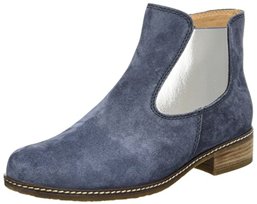 Gabor Shoes Comfort, Stivali Chelsea Donna Blu (ocean 46)