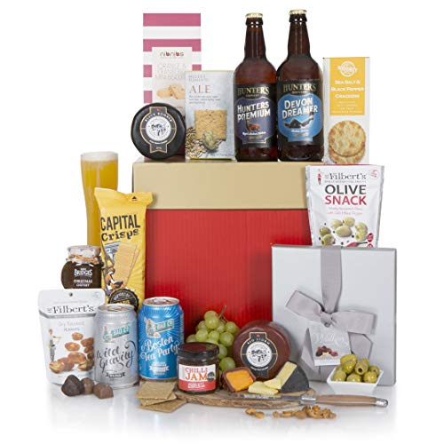 Christmas Beer Hamper - Xmas Beer Hampers - Real Ale and Cheese Gift Basket & Hampers - Beer and Cheese Hamper